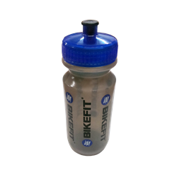 Botella para el Agua Bikefit transparente.